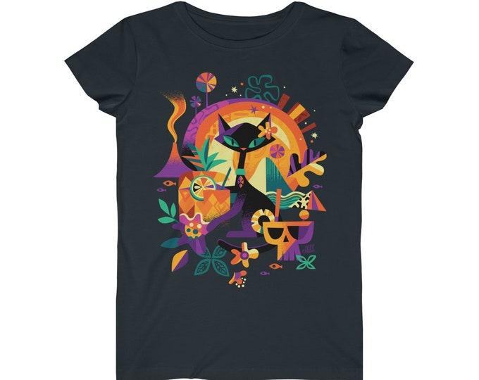 Tikicat Womens T-shirt by Jeff Granito