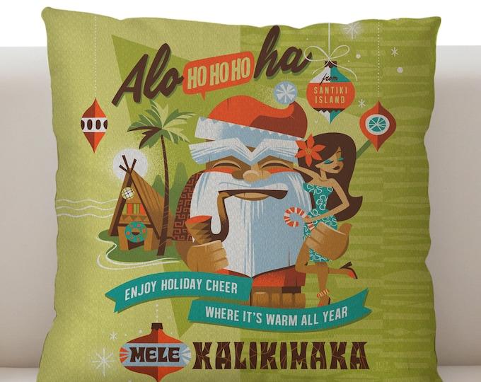 Mele Kalikimaka Pillow