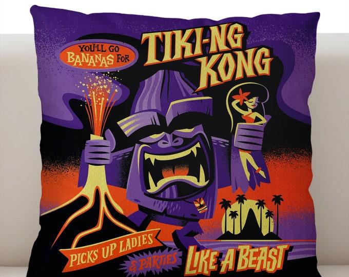 Tiki Kong Pillowcase