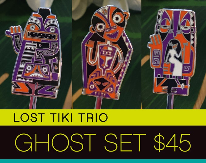 Lost Tiki Trio Ghost Set