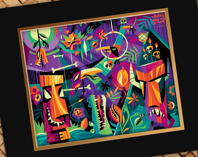 Enchanted Tiki of Doom Print