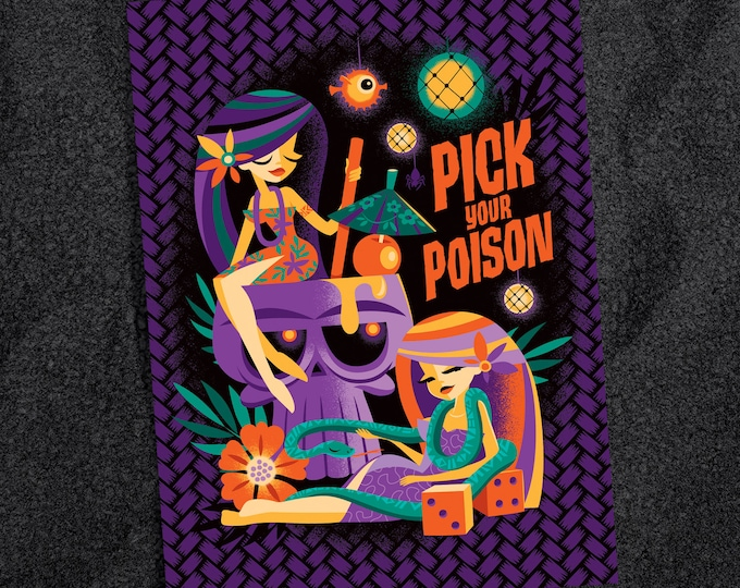 Pick Your Poison Postcard