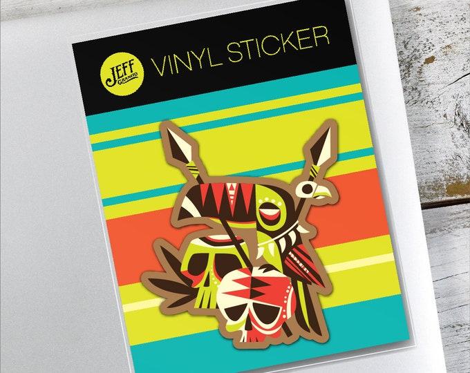 Toucannibal Vinyl Sticker