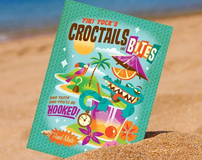 Croctails and Bites 5 x 7 Mini Print