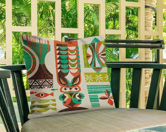 Outdoor Pillow Cover, Lono Breeze