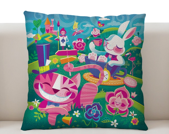 A Walk Through Wonderland Pillowcase