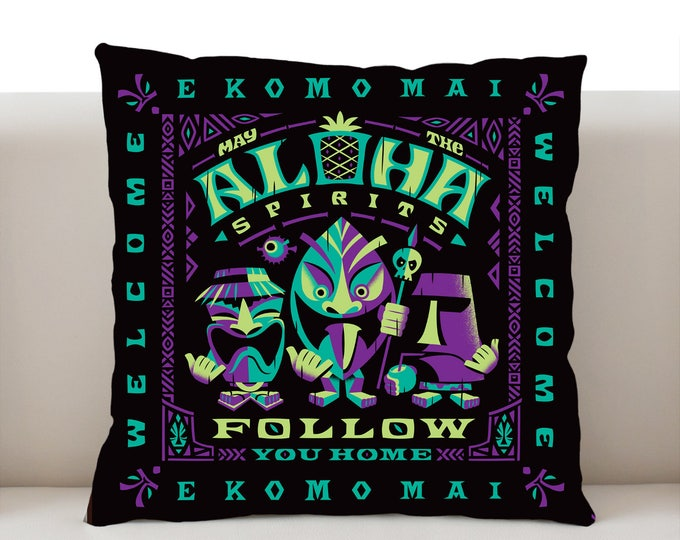 Aloha Spirits Night Pillowcase