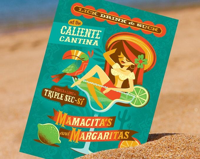 Margarita Mama Postcard
