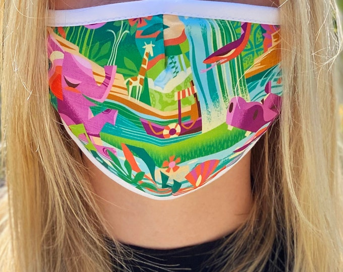 PRE ORDER Jungle Cruising Face Mask Four Week Ship Time