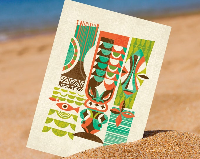 Lono Breeze 5 x 7 Mini Print