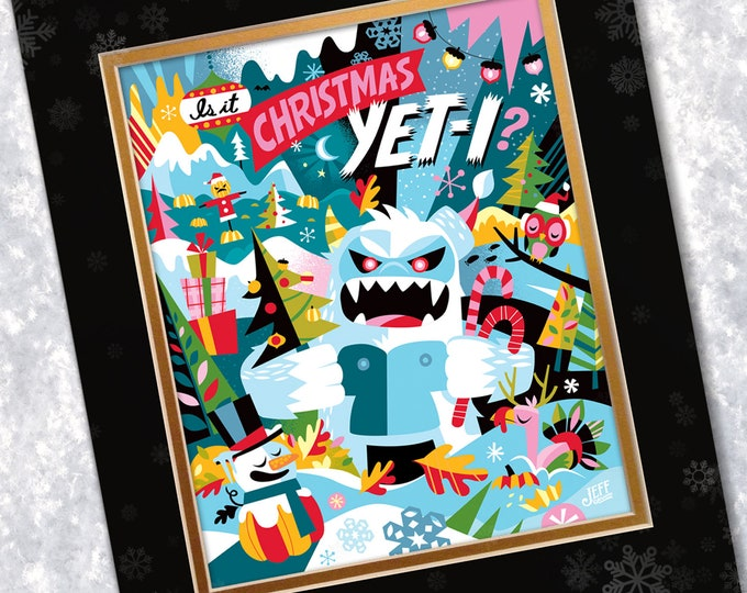 Is It Christmas Yeti?