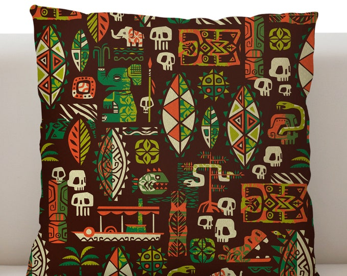 Jungle Juju Pillow Cover
