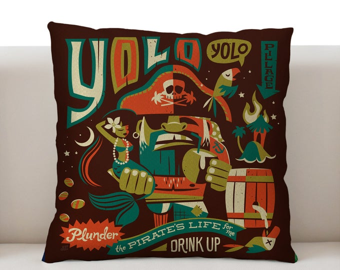 YOLO Pillowcase