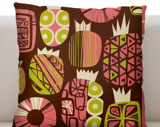 Fresh Pineapple Pink Pillowcase