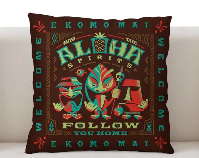 Aloha Spirits Bright Pillowcase
