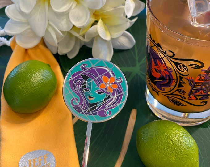 Haunted Float Swizzle Stick