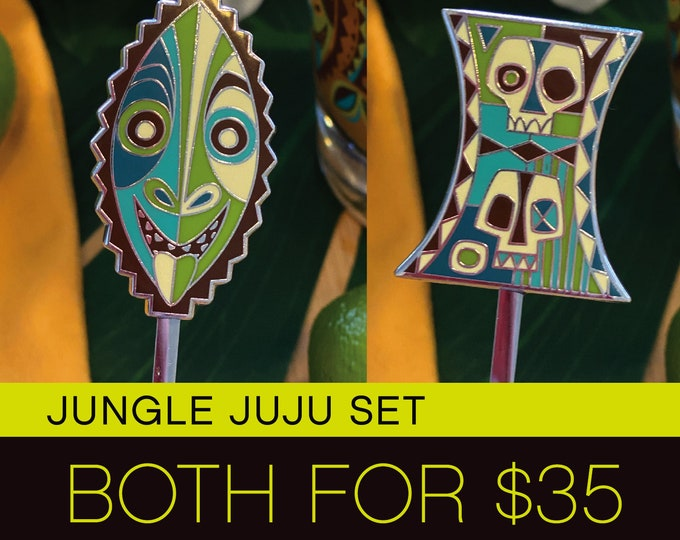Jungle Juju Swizzle Stick Set