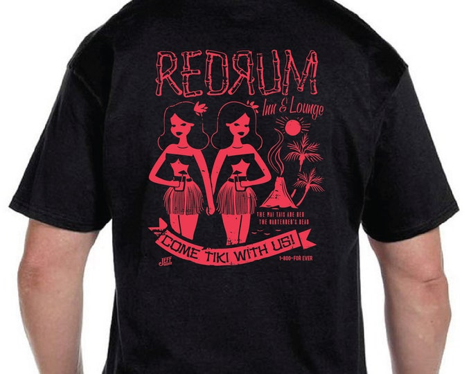 Unisex RedRum Black Light Reactive Tee