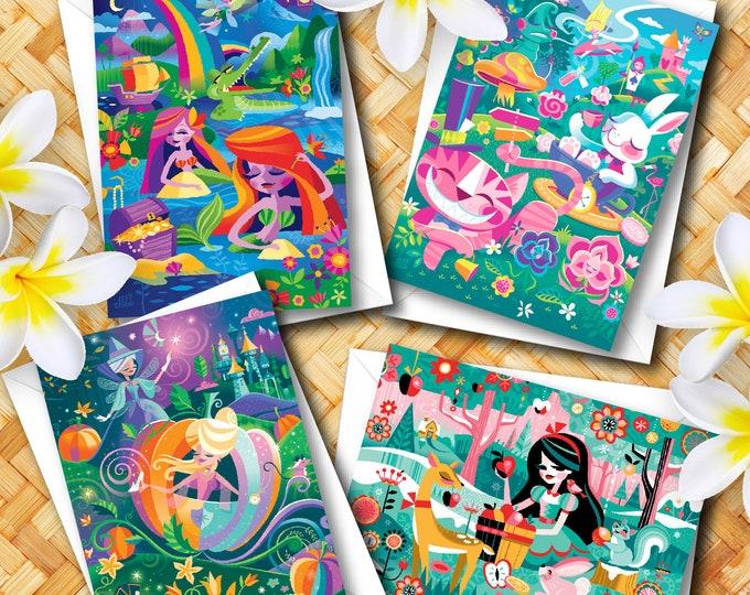 Magical Storybook Mixed Card Set