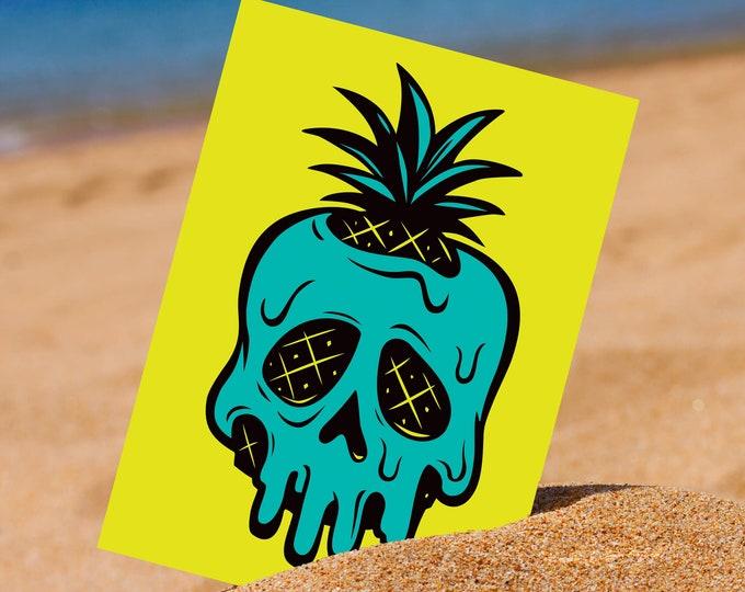 Poison Pineapple 5 x 7 Mini Print