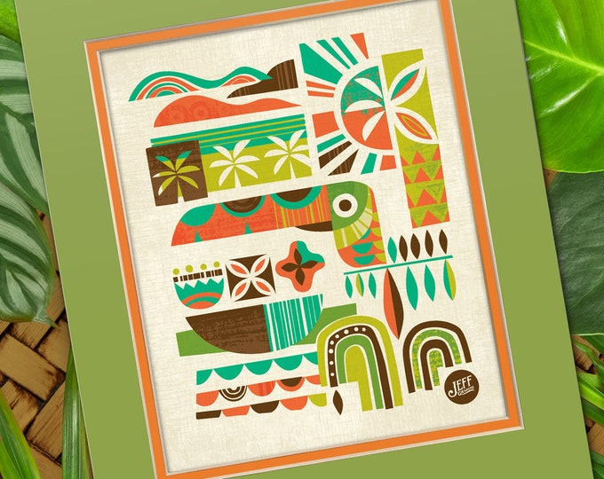 Toucan Breeze Print
