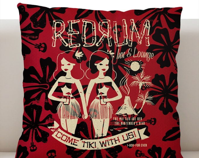 Redrum Pillow Cover