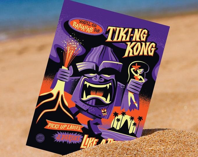 Ti King Kong 5 x 7 Mini Print