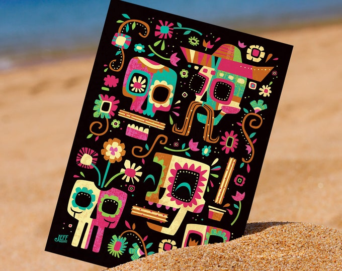 Churros 5 x 7 Mini Print