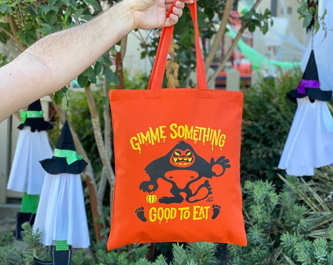 Smell My Feet, Trick or Treat/Grocery Tote Bag