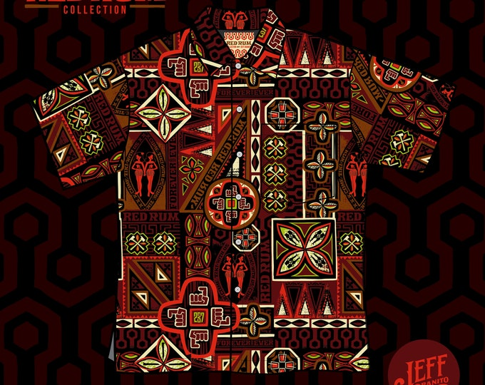 RedRum Aloha Unisex Shirt, Limited Edition PRE SALE ONLY-Free Matching Face Mask, Free Shipping, Jeff Granito