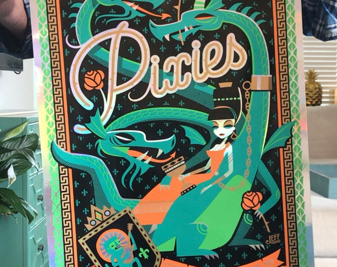 Pixies Artist Deluxe Version (Rainbow Foil) Pixies Poster, Jeff Granito,