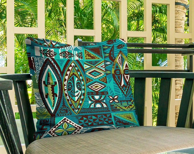 Outdoor Pillow Cover, Distant Drums