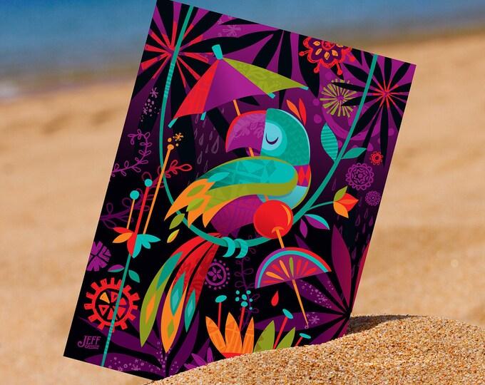 Aloha Garden Postcard
