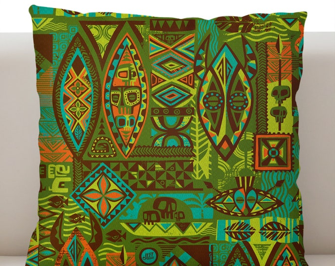 Jungle Greeting Pillow Cover