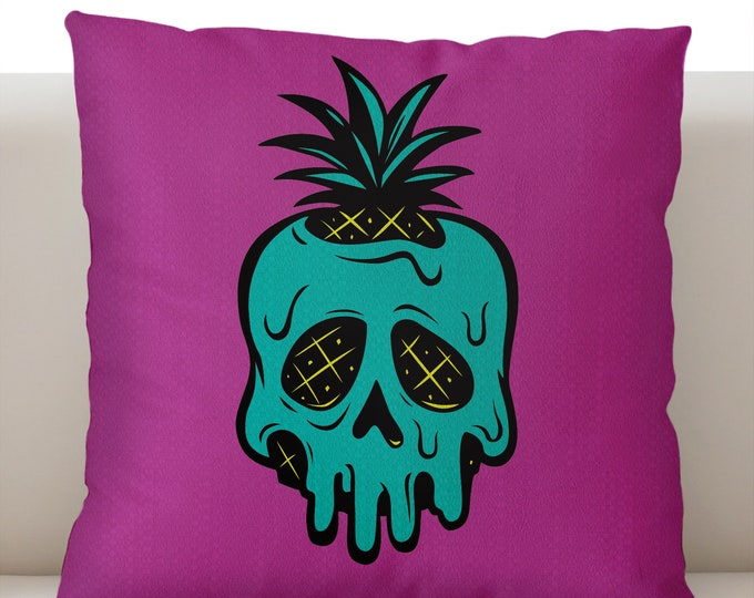 Poisoned Pineapple Orchid Pillowcase