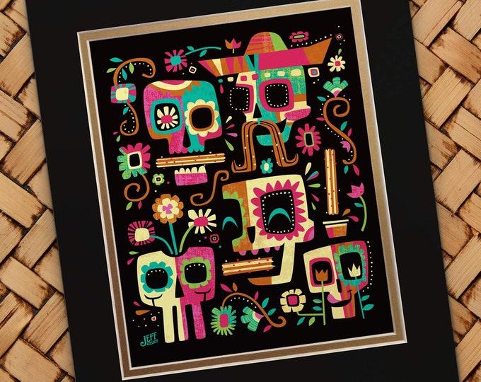Dia De Los Churros Print