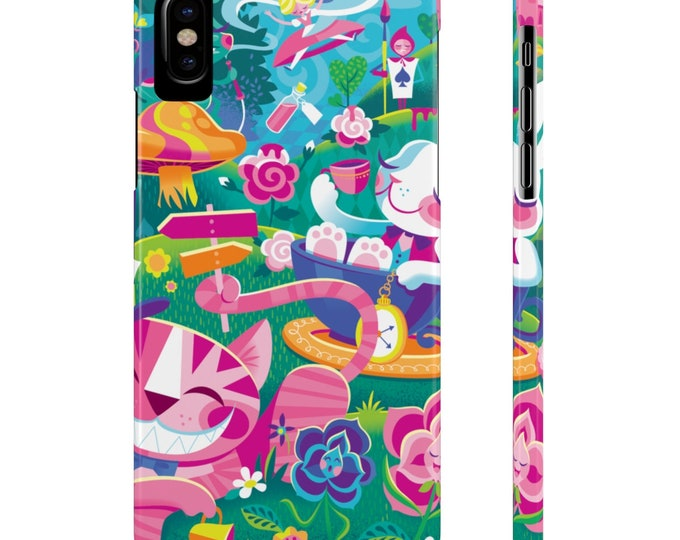 Walk Through Wonderland By Jeff Granito Slim Phone Cases