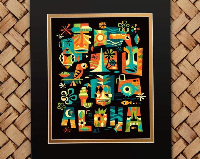 Tiki Nights Print