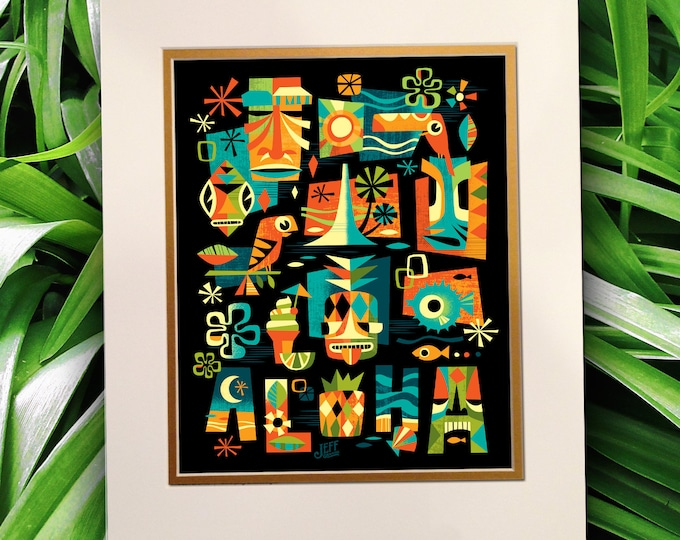 Tiki Nights Print