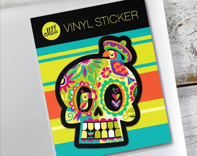 La Calavera Vinyl Sticker