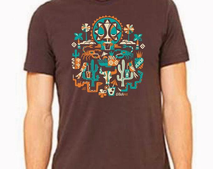 Pre-Order your Jeff Grantio AlohAZ Unisex Tiki Oasis AZ Exclusive Tee-  PICK UP Only!