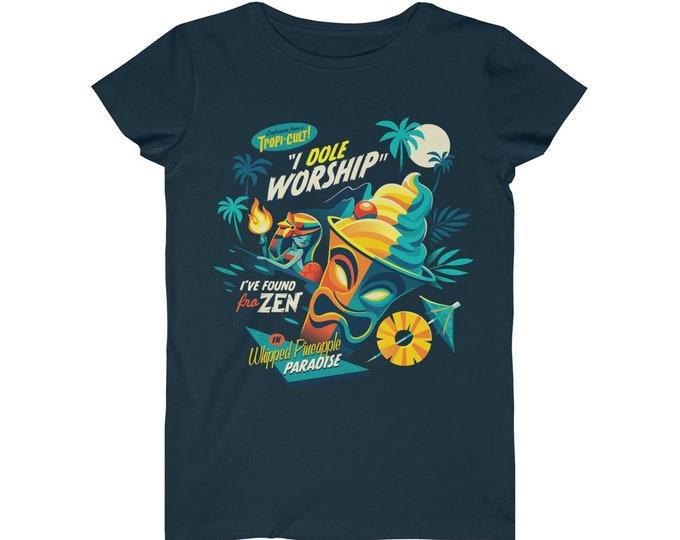 I Dole Worship WomenS Fine Jersey Tee