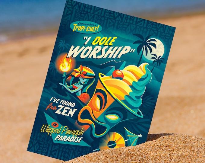 I Dole Worship 5 x 7 Mini Print