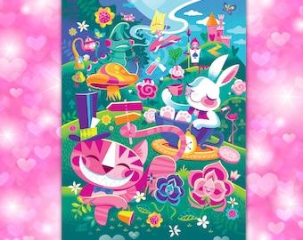 Walk Through Wonderland Postcard