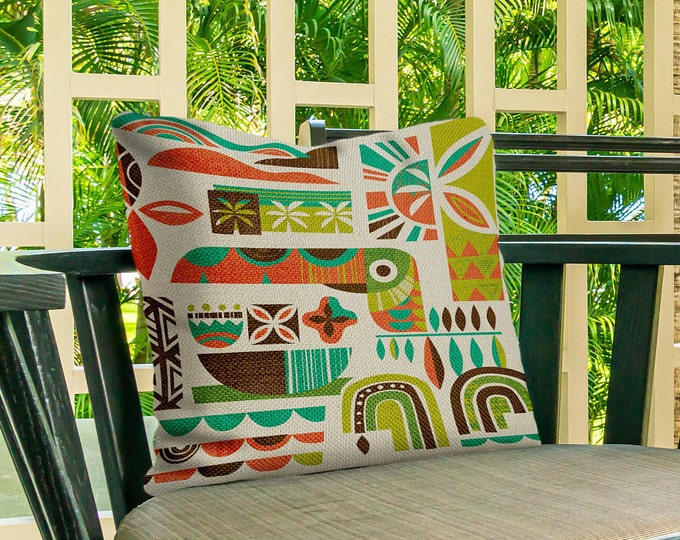 Toucan Breeze Outdoor Pillow Cover