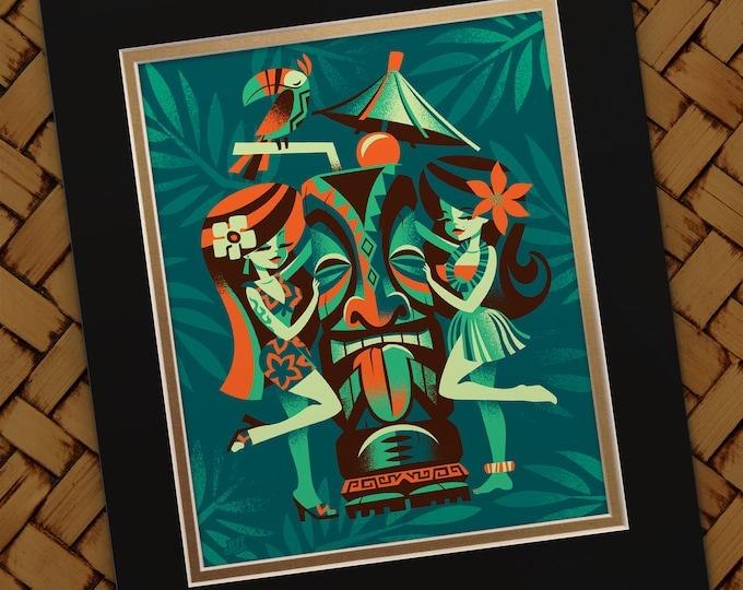 Menage a Tiki Print