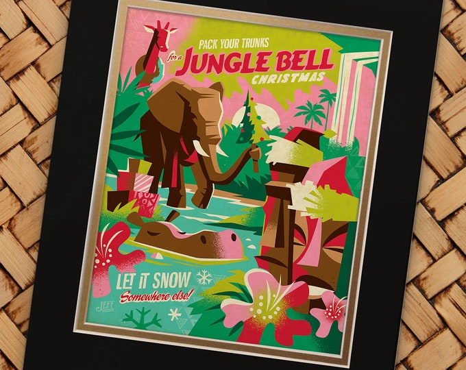 Jungle Bell Print
