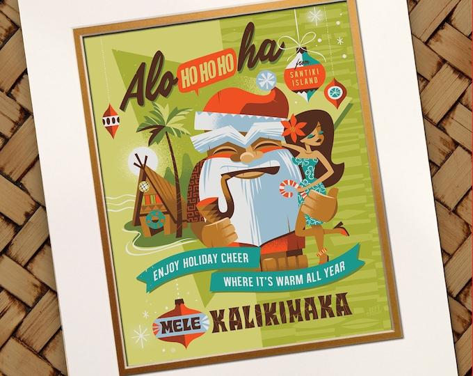Mele Kalikimaka Print