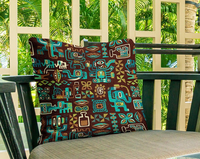 Outdoor Pillow Cover, Drink Elephant