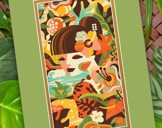 Modern Tropics Print